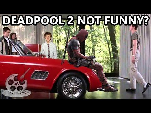 Ferris Bueller's Court Order: WILL DEADPOOL 2 SUCK? Media Leftovers Podcast 4