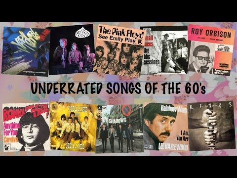 Underrated songs by well known artists of the 60s