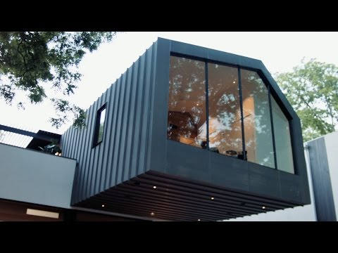 Auto Haus - Bold Custom Home and Collector Garage Austin, Texas