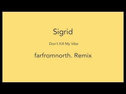 Sigrid - Don't Kill My Vibe (farfromnorth. Remix)