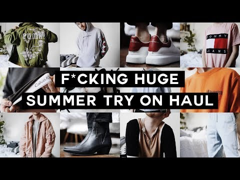 HUGE SUMMER TRY-ON HAUL - Urban Outfitters, H&M, ASOS, Prada + MORE // Imdrewscott