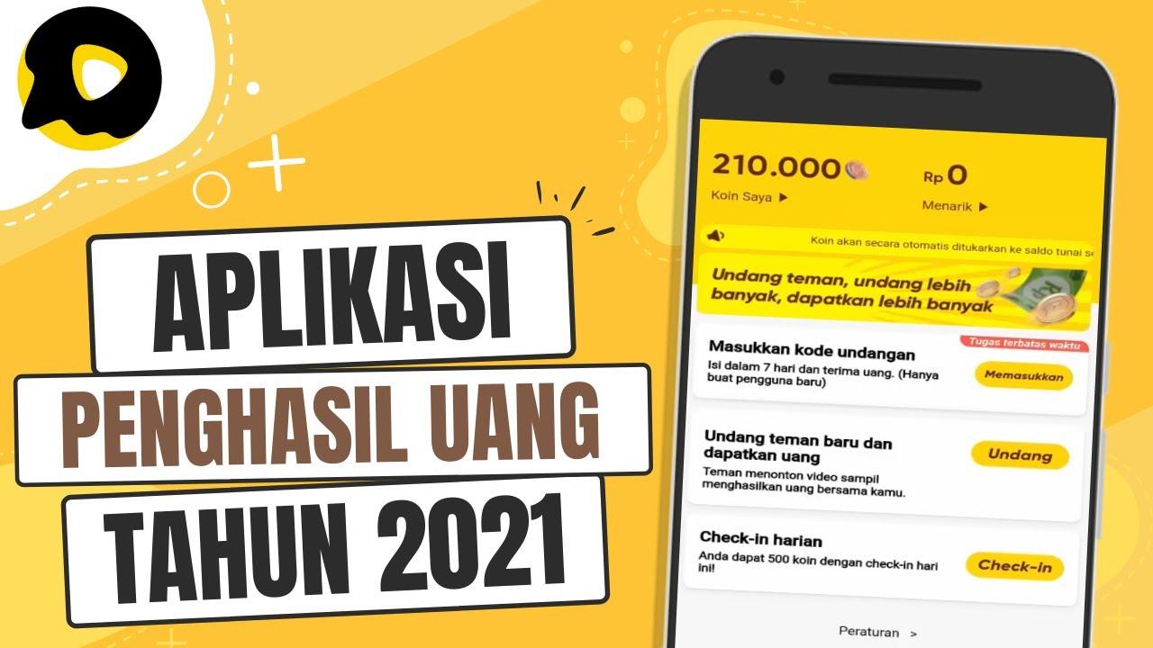 Aplikasi Penghasil Uang 2021 - YouTube