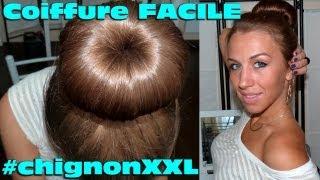 Chignon Facile : Chignon Donut XXL
