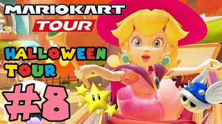 Mario Kart Tour: Halloween Tour Challenges 100% Completed - Gameplay Walkthrough Part 8