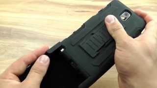Обзор: Ударопрочный чехол для Samsung Galaxy Note 3 с креплением на пояс