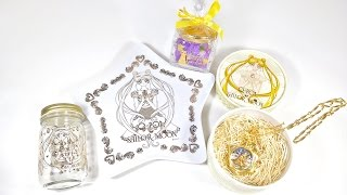 Sailor Moon Q pot Pocket Watch Necklace, Cafe Collab Review 2015