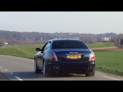 Maserati Quattroporte Sound-Tubi exhaust ,Revs+ Accelerations