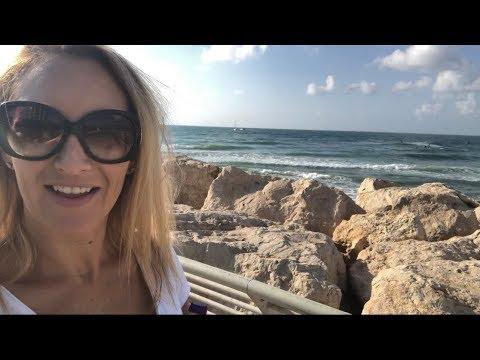 I WENT TO TEL AVIV ISRAEL FOR 15 HOURS TRAVEL VLOG