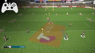 Rugby League Live 4 - In Play Kicking Tutorial