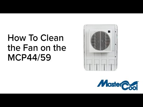 MasterCool - How to Clean the Fan on the MCP44/59 Window Evaporative