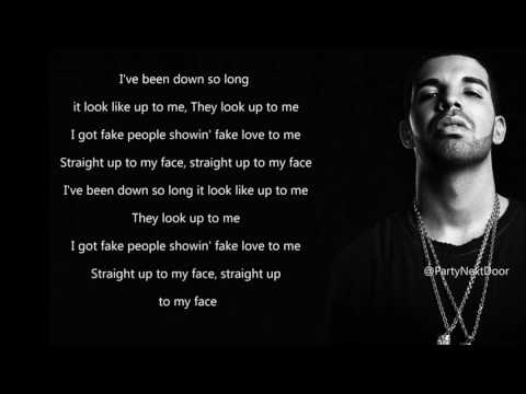 Drake - Fake Love (Lyrics)