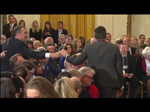 Raw Video: President Trump, Reporters Spar Openly At White House Press Conference