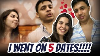 *EPIC* VLOG - 5 Dates in 5 Days! 1 with my boyfriend, Rest 4 with?? | Heli Ved