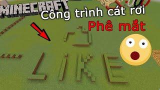 Công Trình Cát Rơi Dài Nhất Trong Minecraft (Phần 4) - Khi Mọi Thứ Đã Lên Tầm Cao Mới!!