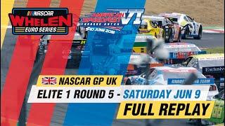 ELITE 1 Round 5 | NASCAR GP UK 2018