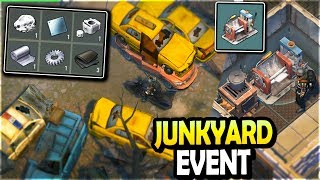 JUNKYARD Event + NEW PRESSING MACHINE (Lead + Rubber Loot) - Last Day on Earth Survival Season 3
