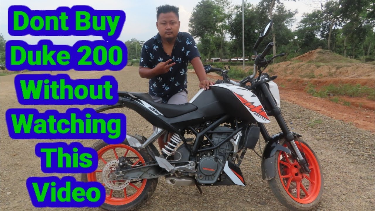 5 Advantage And Disadvantage Of KTM Duke 200 / Naga Motovlogger