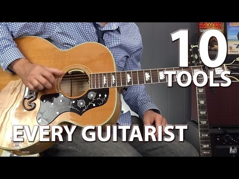 10 Tools That Every Guitar Player Should Own