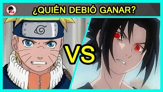 Naruto Vs Sasuke - Primera Pelea - QUIÉN DEBIÓ GANAR