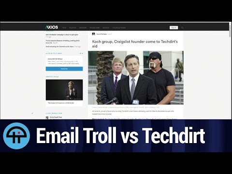 Techdirt Sued by
