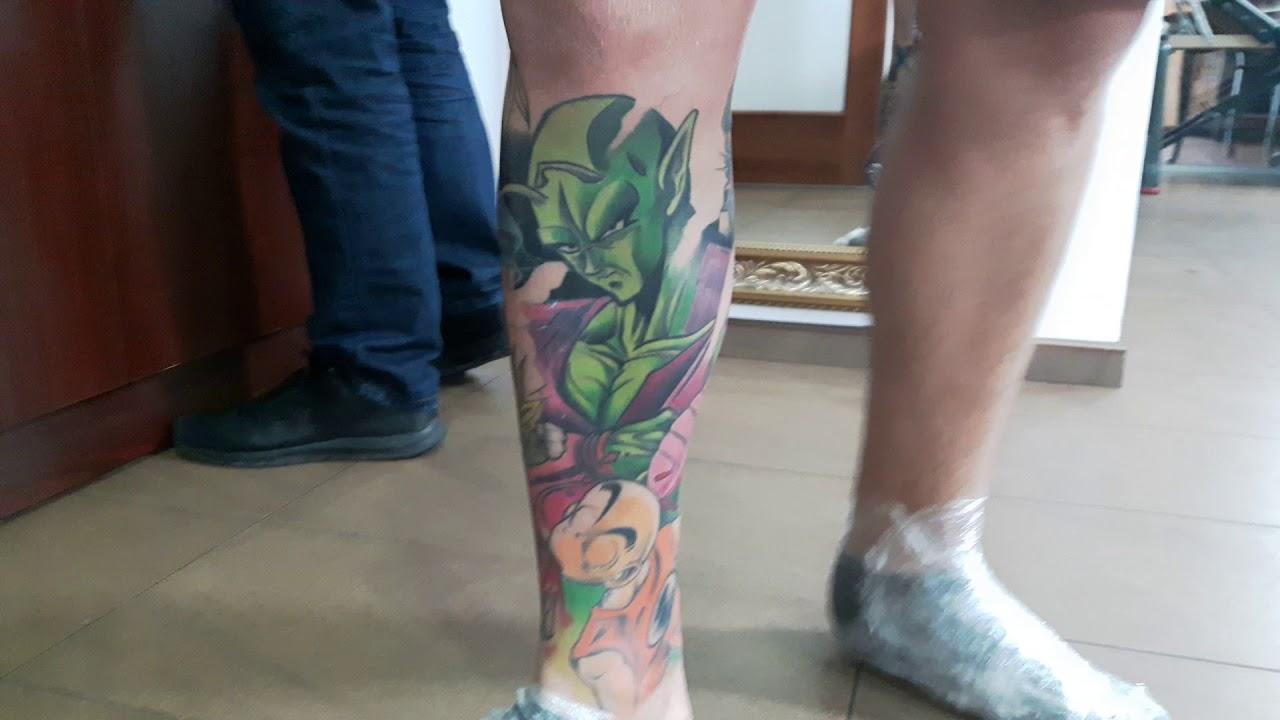 Tattoo Dragon Ball Wykjaro W Studziński Team Studio Tattoo