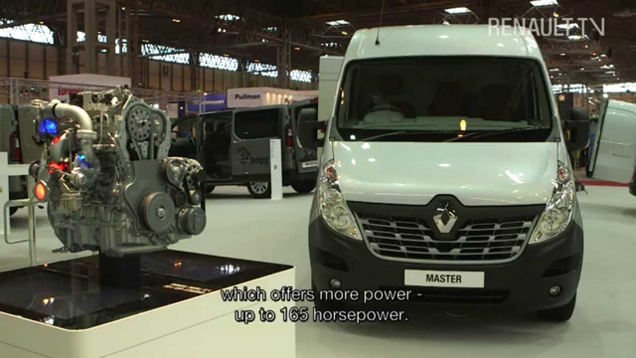 new renault master reveal at the birmingham cv show youtube. Black Bedroom Furniture Sets. Home Design Ideas