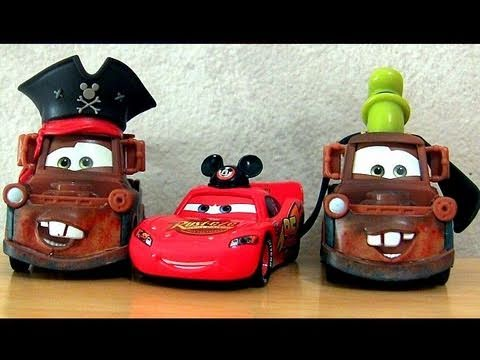 disney cars pirate mater with mickey mouse mcqueen youtube