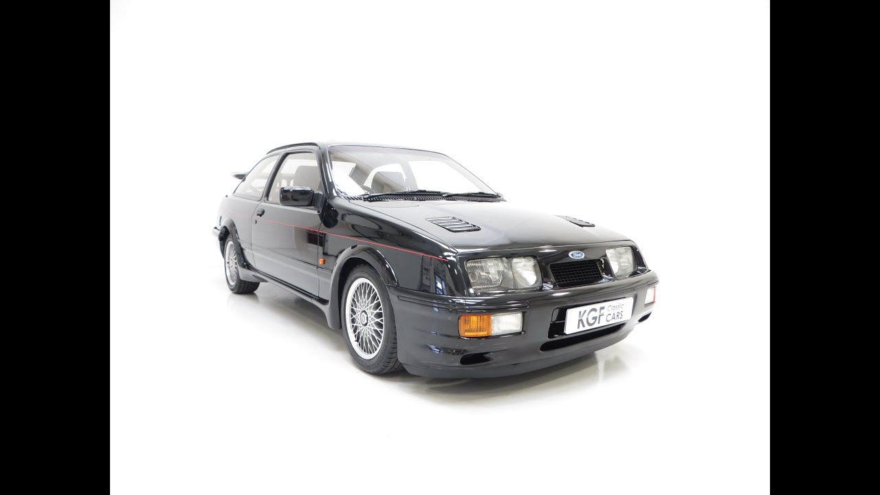A legendary original ford sierra rs cosworth with just 25 768 miles from new sold