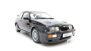 A Legendary Original Ford Sierra RS Cosworth with Just 25,768 Miles from New - SOLD!