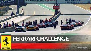 Ferrari Challenge North America Laguna Seca 2020 Trofeo Pirelli And Coppa Shell Race 2 Youtube