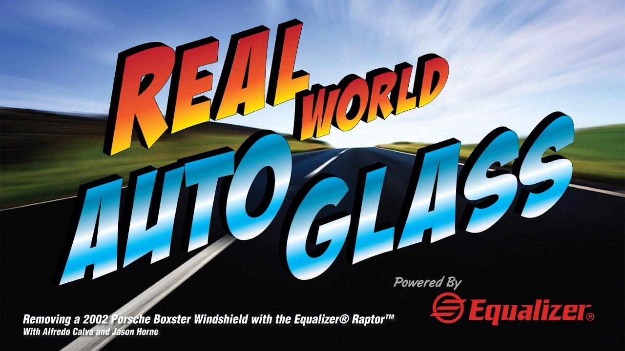 Real World Auto Glass - Removing a 2002 Porsche Boxster Windshield ...
