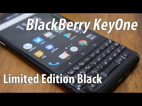 BlackBerry KeyOne Limited Edition Black Unboxing & Initial Impressions After Use