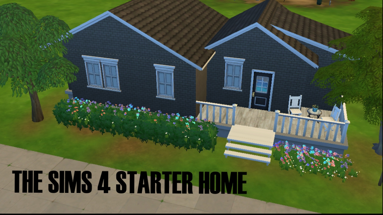❤ STARTER HOME SPEED BUILD//SIMS 4❤