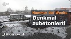 Bahnunterführung in Cloppenburg zubetoniert - Hammer der Woche vom 02.02.2019 | ZDF