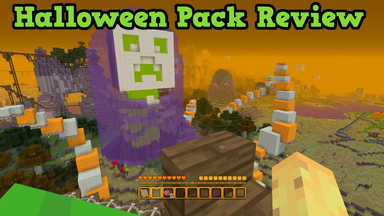 minecraft xbox 360 ps3 halloween mash up pack review youtube - Halloween Xbox 360
