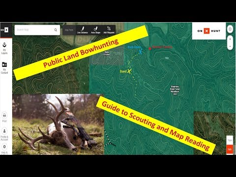 Bowhunting Whitetails: Cyber Scouting and Map Reading Tactics