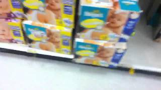 A walk around the diapers and training pants at target