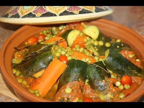 Moroccan vegetable tagine recipe recette tagine marocain aux moroccan vegetable tagine recipe recette tagine marocain aux lgumes recettes maroc youtube forumfinder Gallery