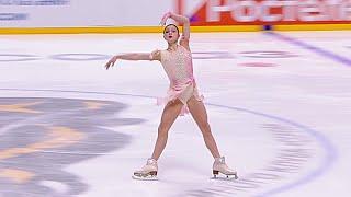 Софья Самоделкина Короткая программа Женщины Сочи Кубок России по фигурному катанию 2021 22