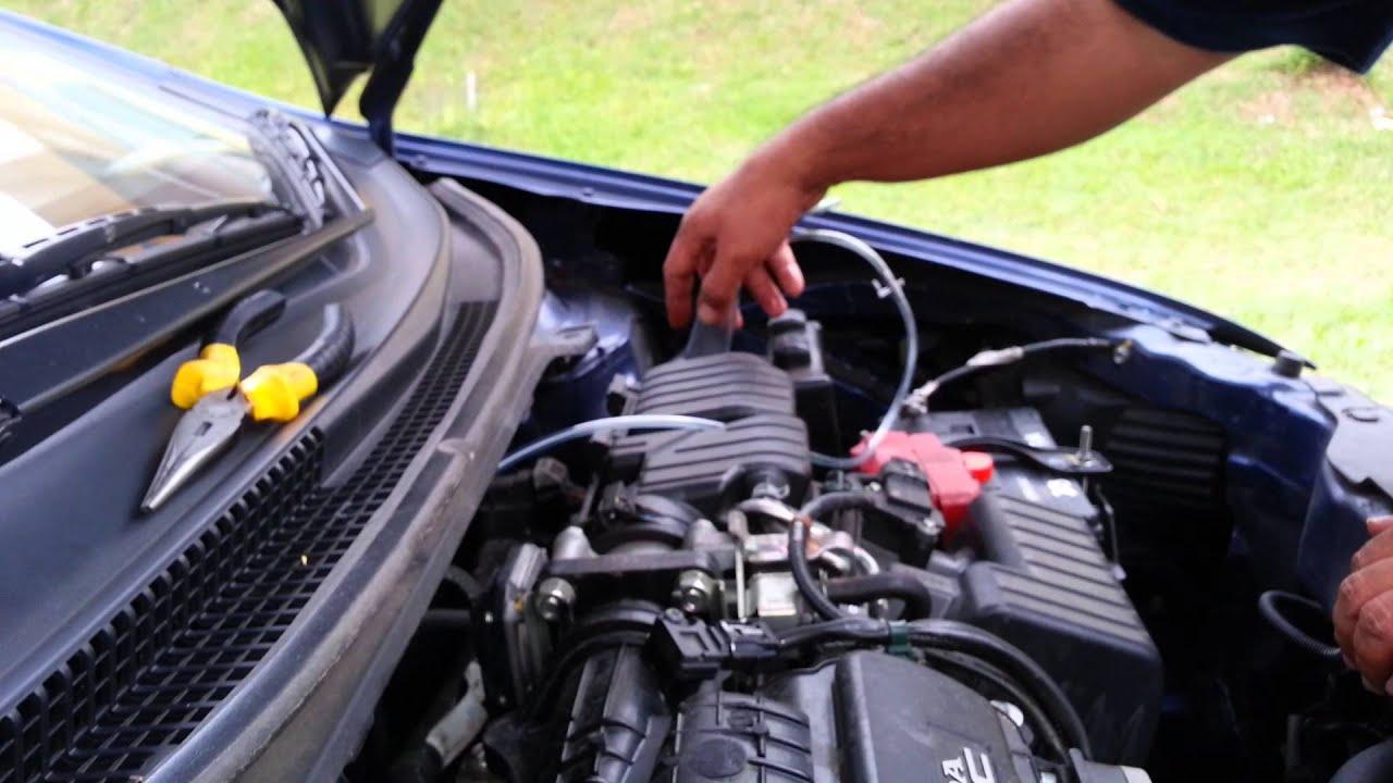 2008 Honda Civic Fuel Filter Tutorial Oilyman Engine Decarbonizer Honda City I Vtec