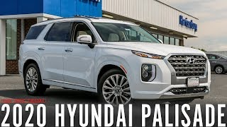 In depth look at the 2020 Hyundai Palisade