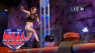 Ninja run: Laura Dean (Semi final) | Australian Ninja Warrior 2018