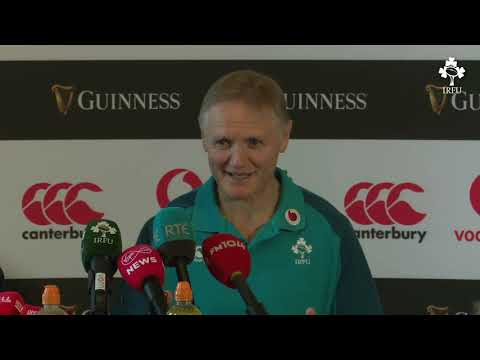 Irish Rugby TV: Ireland v Argentina Team Announcement Press Conference