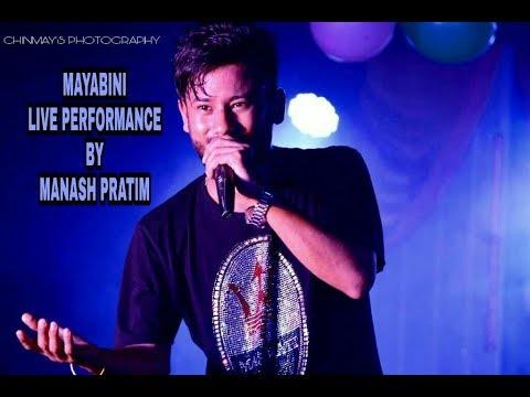 MAYABINI || Manash Pratim Live Performance