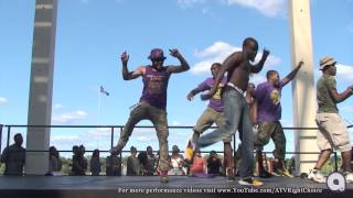 Omega Psi Phi hop at UAlbanys Block Party