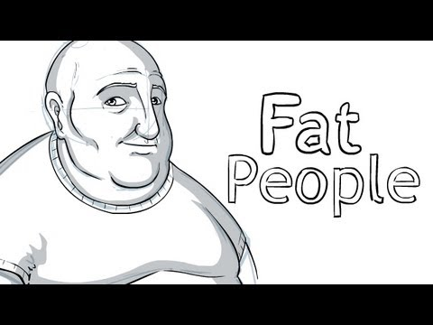 How to Draw Fat People