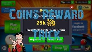 8 Ball Pool Coins Reward Trick