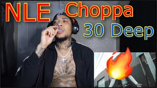 "30 Deep Grimeyy Ft. NLE Choppa & King Von ""Grim Reapa Flow"" REACTION"