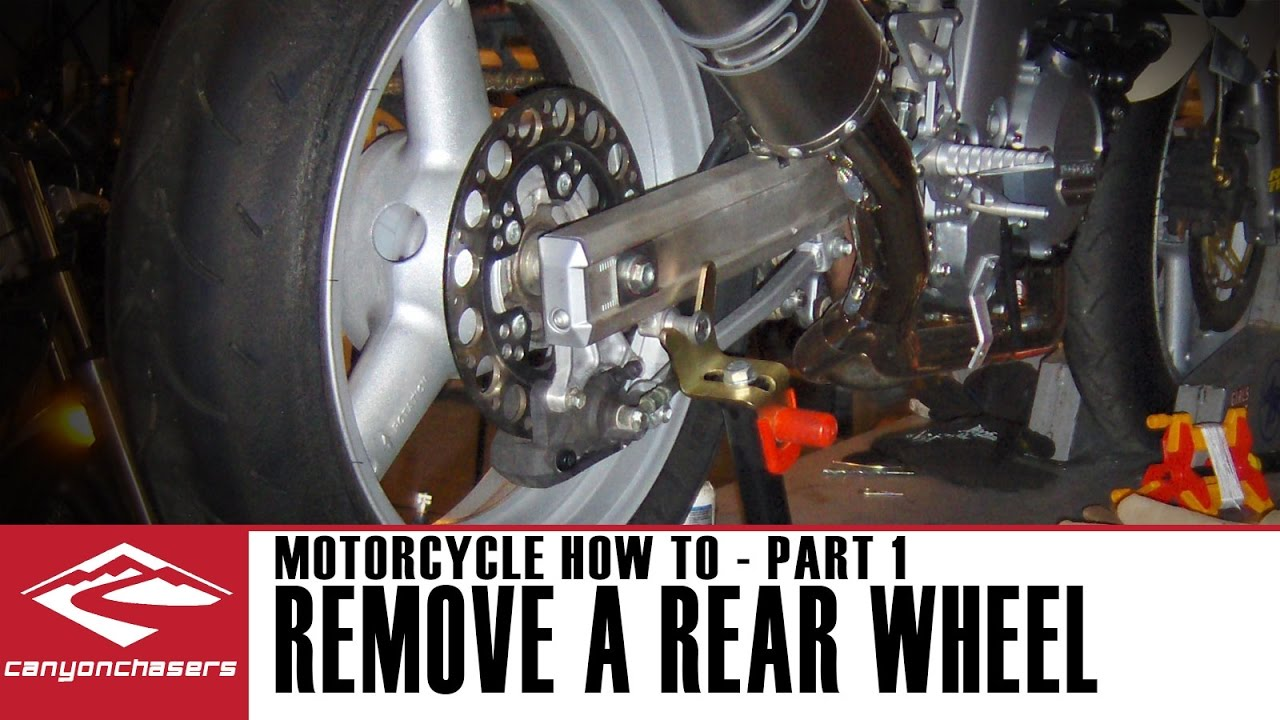 Replace Your Rear Motorcycle Wheel