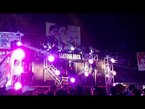 Anil Yadav Mau Santosh Rock Dj Mau new durgapoja 2018